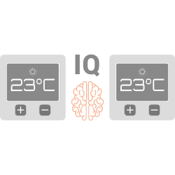 Smarte termostater