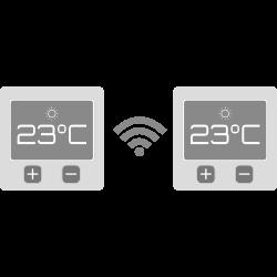 Trådløse termostater